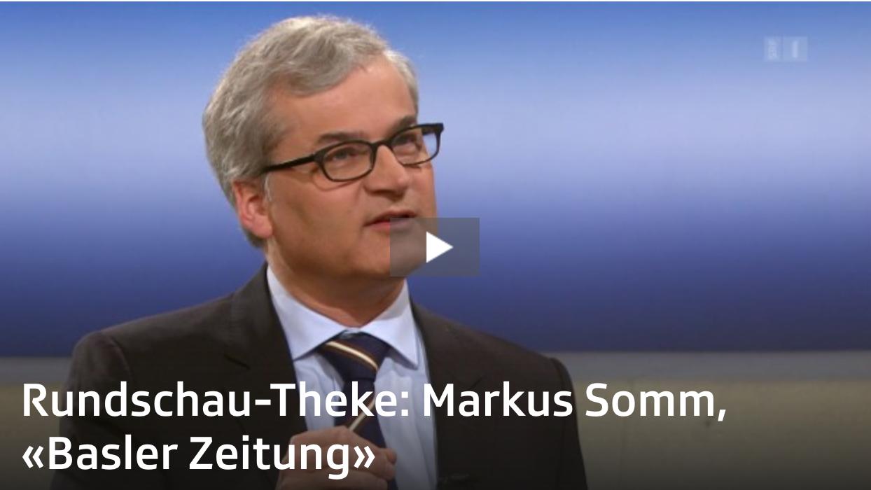 Screenshot von Markus Somm, Chefredaktor der Basler Zeitung